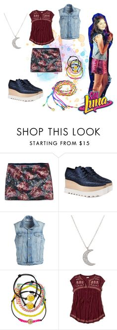 """""""soy luna"""" by maria-look on Polyvore featuring Abercrombie & Fitch, STELLA McCARTNEY, Frame Denim, Finn, Carole and Hollister Co."""