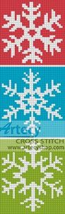 Snowflake Bookmark 2, designed by Tereena Clarke, from Artecy Cross Stitch.