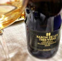 El Alma del Vino.: Bodega Barón de Ley Tres Viñas Blanco Reserva 2009.