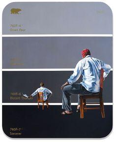 Peinture par Shawn Huckins