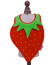 We stock these gorgeous bibs. This is our favourite - Strawberry  http://www.sayitbaby.co.uk/contents/en-uk/d56_fun-baby-bibs-and-accessories.html