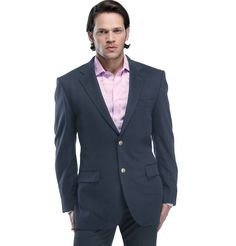 AQUASCUTUM - NAVY CASHMERE  Prussian Blue classic from Aquascutum. This fabulous piece is the perfect companion for a formal dinner invite. Wear with both light and dark shirts, this will never fail you. Looks best with a metallic grey shirt.