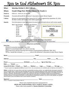 Sign up now for this 5K! It's for a great cause!