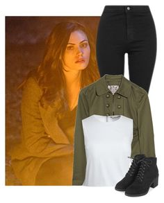 """""""Campfires"""" by jaisgirlfriend ❤ liked on Polyvore featuring Topshop, Juicy Couture and Canvas by Lands' End"""