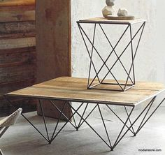 Roost Recycled Mahogany Tables – Modish Store
