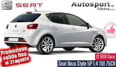 Seat Ibiza Style 5P 1.4 TDI 75CV - Autosport http://affariok.blogspot.it/