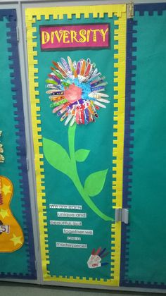 """Diversity display - """"We are each unique but and beautiful, but together we are a masterpiece"""".  Ask your children to draw round their hand, then decorate and it cut out. Perfect for your classroom or setting."""