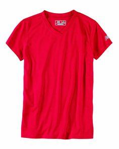 New Balance Ladies Ndurance Athletic V-Neck T-shirt