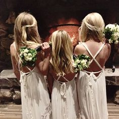 """Thank you @charmedwithamocha ... ""Your poppy dresses were a total hit.  I must have been asked by 20 women where we got the dresses!!! Thank you thank you thank you .... Wedding was at calamigos ranch in Malibu CA #flowergirls #poppydress #ranchwedding"" Photo taken by @teaprincessaust on Instagram, pinned via the InstaPin iOS App! http://www.instapinapp.com (12/15/2015)"