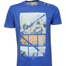 Тениска SMITH&JONES LA Limits Blue