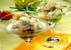Receta de Cóctel de gambas y langostinos en http://www.recetasbuenas.com/coctel-de-gambas-y-langostinos/ Prepara un delicioso cóctel de gambas y langostinos de forma rápida y sencilla , una receta muy sabrosa y deliciosa perfecta para abrir cualquier comida.  #recetas #Mariscos