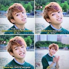 Jungkookie us sooo CUTE!!! ❤️❤️