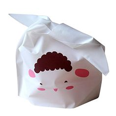 Vivian 50pcslot Rabbit Ear Cookie Bags Foodgrade Plastic Candy Biscuit Packaging Wrapping Treat Gift Bag Sheep >>> Details can be found by clicking on the image.