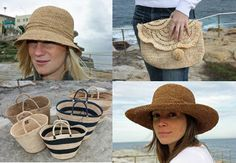 sophie digard raffia crochet hats and bags