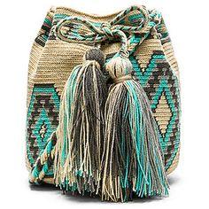 Guanabana Medium Bucket Crossbody Bags