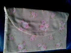 floral clutch/make up/tissue bag