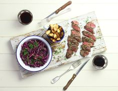 Scandi Venison with Quick Pickled Cabbage Recipe   Abel & Cole