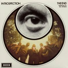 vintage psych. album cover : The End - Introspection, 1969