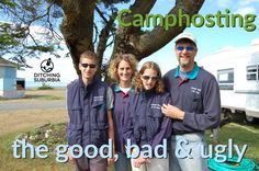 The Ditching Suburbia Podcast #28 - Camphosting. The good. The bad. And the ugly.