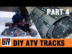 Homemade ATV tracks - Part 1 - YouTube