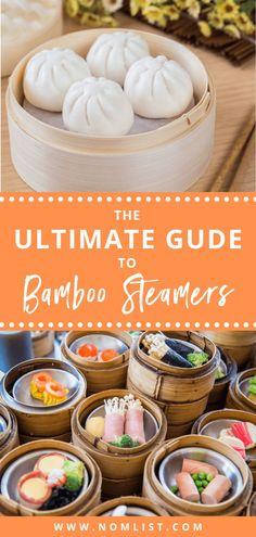 If you ever had Chinese dim sum on a Sunday mid-morning, then you're definitely familiar with the scrumptious delicacies a bamboo steamer can yield. Now, you can actually cook these mouth-watering delights and other steamed cuisines with these best Steam Recipes, Chef Recipes, Cooking Recipes, Cooking Hacks, Easy Chinese Recipes, Indian Food Recipes, Asian Recipes, Dim Sum, Bamboo Steamer Recipes