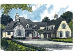 country french roof styles french country house plan with 4747 square feet and 4 bedrooms