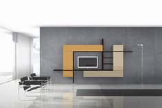 Top 30 Simple Tv Unit Design For Living Room Latest Wall Tv Cabinet Design For H. - Home Interior Pedia Tv Cabinet Design, Tv Wall Design, Simple Living Room, Living Room Tv, Modern Living, Modern Tv, Minimalist Living, Minimalist Decor, Minimalist Furniture