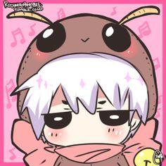 je peux vivre sans toi Chibi Tokyo Ghoul, Ken Tokyo Ghoul, Anime Chibi, Kawaii Anime, Manga Anime, Kaneki, Tokyo Ghoul Wallpapers, Wallpaper Stickers, Manhwa Manga
