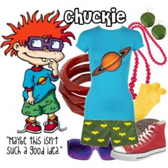 LOL! sweet dress like chuckster <3