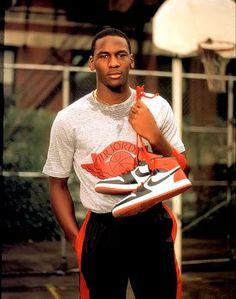 Michael Jordan, Air Jordans, 1980's sneakers, High tops