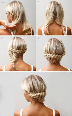 Love these easy ways to get your hair out of the way