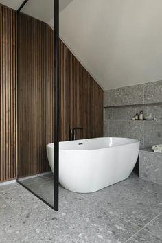 Loft Bathroom, Bathroom Plans, Upstairs Bathrooms, Downstairs Bathroom, Bathroom Design Small, Bathroom Interior Design, Japanese Bathroom, Baths Interior, Minimal Bathroom