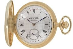 Gevril Men's G624.950.56 1758 Collection Mechanical Hand Wind Swiss Pocket Watch by Gevril -- Awesome products selected by Anna Churchill