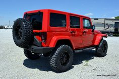 red jeep rubicon unlimited - Google Search