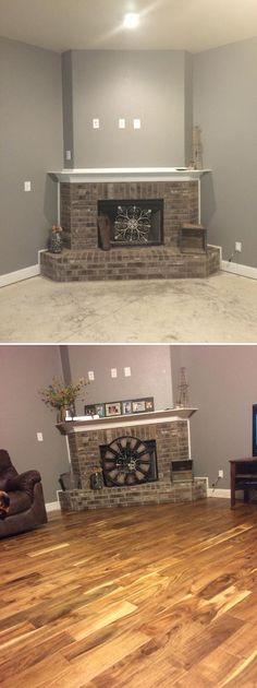 """""""Having 2 dogs, we didn't want carpet to have to clean. We opted for hardwood instead of tile and absolutely love it !!"""" - Gail, TX"""