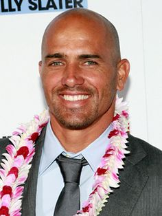 Kelly Slater (PS I actually sat by this guy on a flight from Florida when I was 16!)