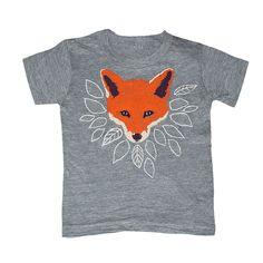 1ac8d9108f7 KIDS Fox T-shirt - Boy Girl Youth Toddler Children Tee Shirt Cute Orange  Forest Nature Fantastic Mr Fox Animal What Would The Fox Say Tshirt