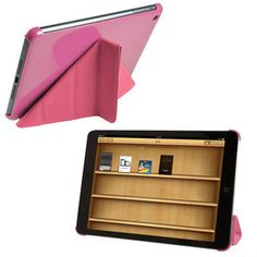 iPad Mini Snap-On Case with Smart Cover Stand - Orange Ipad Mini Cases, Ipad Case, Ipad Mini Accessories, Iphone Parts, Pink Iphone, Leather Case, Miraculous, Magnets, Orange