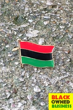 Buy Black and support the movement! Click the link and you get FAST FREE SHIPPING (this month only!) Red Black Green Flag, Pan Africanism, Flag Lapel Pins, Marcus Garvey, Black Entrepreneurs, African Nations, Black Families, Buy 1 Get 1, Black History Month