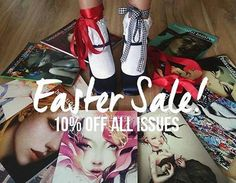 BEAUTIFUL BIZARRE MAGAZINE EASTER SALE! All print & digital issues now 10% OFF!!! From 12 - 17 April AEST . For a limited time get any available print or digital issue of Beautiful Bizarre Magazine at 10% OFF! . Start or complete your collection of our gorgeous collectable indie mag today shop now > via the active link in our bio! . Or get the fully interactive digital edition with everything you LOVE about the print issue plus lots of exclusive digital ONLY content! Get Beautiful Bizarre…