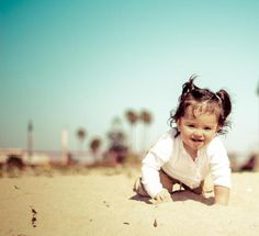 Toddler photography, baby girl, beach photography