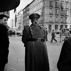 Bill Perlmutter Policeman, Madrid, 1956