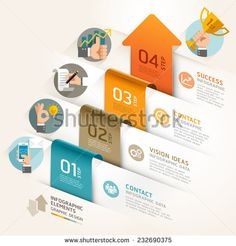 Creative Business Infographic Flyer Template Or Brochure With