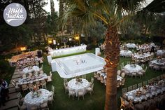 Personalized dance floor By MilkAndVodkaEvents A vintage wedding in Cyprus Event Planning, Destination Wedding, Dance, Table Decorations, Photo And Video, Cyprus, Baby Showers, Party, Floor