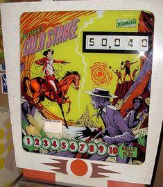1975 Gottlieb Gold Strike pinball