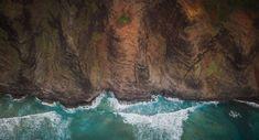 #cliff coast #coast #hawaii #kauai