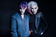 Hair: Ari Koponen, Cybtekk Hair Studio  | Photo: Frankie Statuto