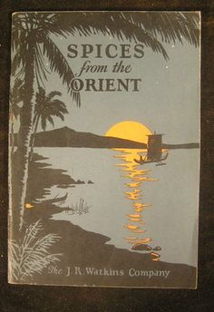 Watkins Spice Book 1927 Illustrated J R Watkins Co Antique Catalog