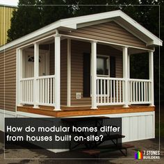 Many of us would have come across the phrase Modular Homes Modular homes are houses & Pin by Losberger UK on Offsite Built - Modular buildings ...