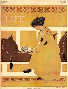 Life magazine, May 12 1910, Coles Phillips cover